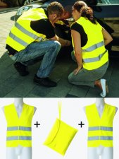 Duo-pack Adults vest hi-vis